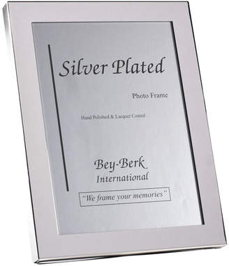 Bey-Berk Bey Berk Silver Plated 8X10 Picture Frame With Easel Back