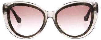 Balenciaga Cat-Eye Twist Sunglasses