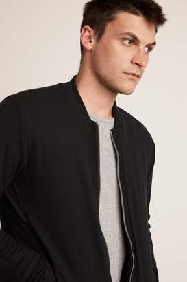 Velvet by Graham & Spencer CABE COZY JERSEY BOMBER JACKET