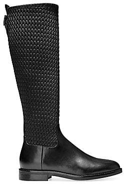 Cole Haan Women's Lexi Grand Stretch Leather Riding Boots
