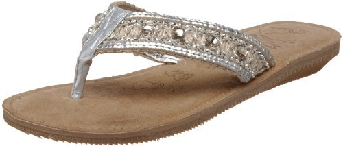 Jellypop Women's Orleans Beaded Thong
