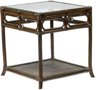 "Selamat Eloise 20"" Rattan Side Table - Clove"