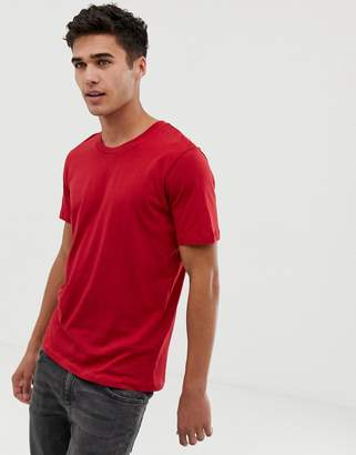 Selected perfect t-shirt in pima cotton