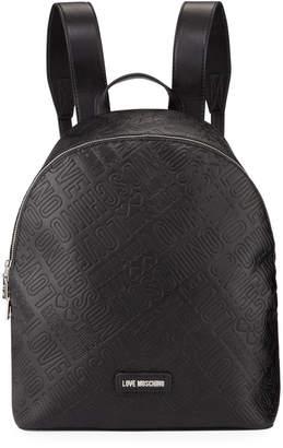 Love Moschino Borsa Logo Backpack Bag