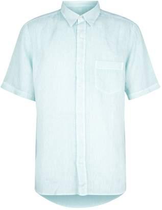 120% Lino 120 Lino Short-Sleeved Linen Shirt