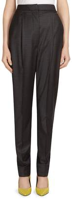 Alberta Ferretti Women's High-Waist Wool-Blend Trousers
