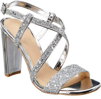 Badgley Mischka Diza Leather Sandal