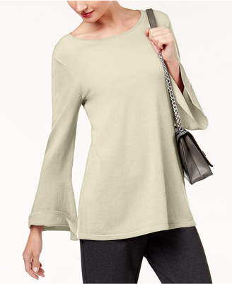 Alfani Bell-Sleeve Tunic Sweater, Created for Macy's