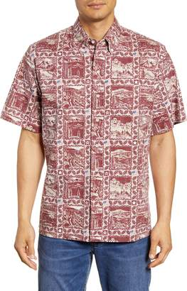 Reyn Spooner 2019 Commemorative National Parks Short Sleeve Button-Down Shirt