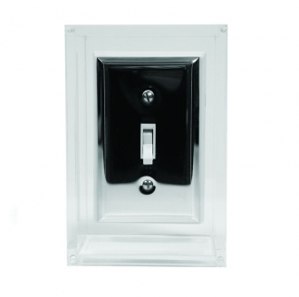 Tobias Wong Light Switch - Chrome