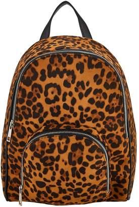 Very Older Girls Leopard Back Pack