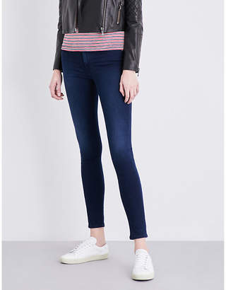 7 For All Mankind Slim Illusion slim high-rise jeans