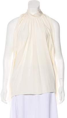 Derek Lam Silk Open-Shoulder Top