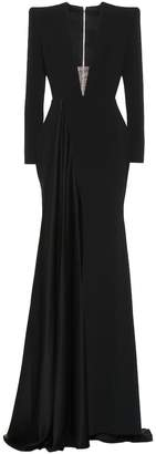 Alex Perry Lindy satin crepe gown