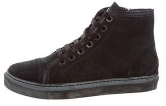 Anine Bing Suede High-Top Sneakers w/ Tags