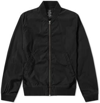 Save Khaki Poplin Bomber Jacket