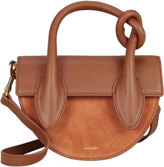 Yuzefi Delores Knotted Saddle Bag