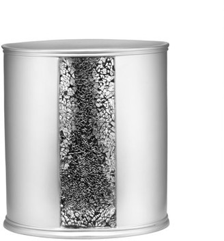 Popular Bath Sinatra Silver Collection - Bathroom Waste Basket