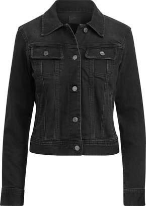 Ralph Lauren Lace-Up-Sleeve Denim Jacket