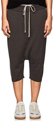 Rick Owens Women's Wool Drop-Rise Crop Pants