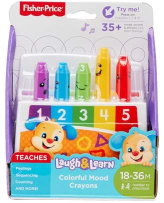 Fisher-Price Laugh N Learn Colorful Mood Crayons