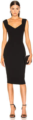 Victoria Beckham Fitted Dress in Black | FWRD