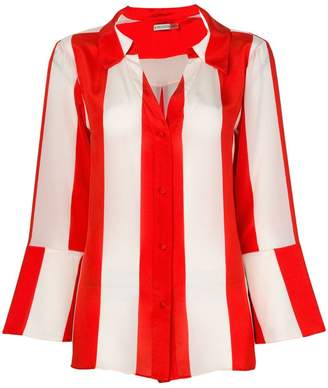 Alice + Olivia Alice+Olivia striped fitted shirt