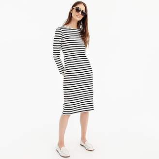 J.Crew Tall long-sleeve striped dress