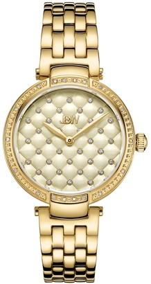 JBW Women's Gala Diamond Accent & Crystal Stainless Steel Watch