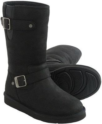 UGG® Australia Sutter Leather Boots (For Women) $139.99 thestylecure.com