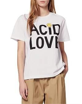 Sandro Paris Zyed Knitted T Shirt