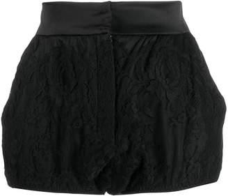 Dolce & Gabbana silk short shorts