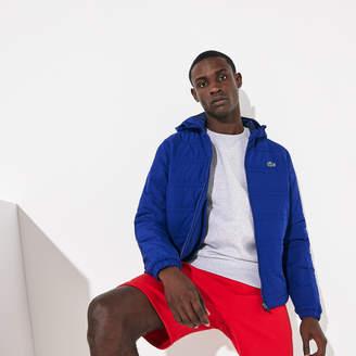 Lacoste Men's SPORT Packable Water-Resistant Zip Jacket