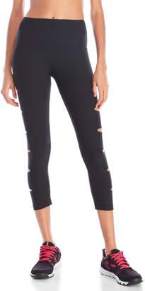 Yogalicious Side Slit Capri Leggings