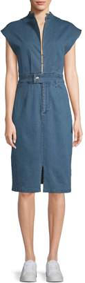 Alexia Admor Women's Denim Sheath Dress