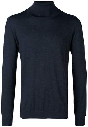 Laneus roll-neck fitted sweater