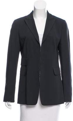 Akris Punto Wool Notch-Lapel Blazer