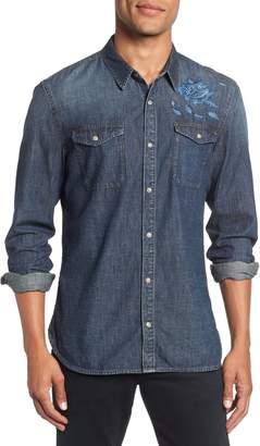 John Varvatos Desert Rose Denim Shirt