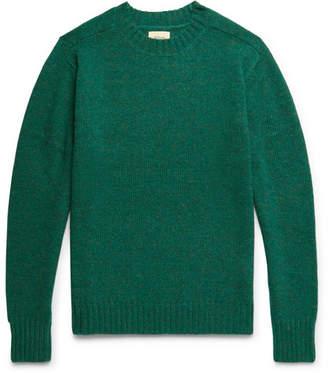 Bellerose Umash Mélange Shetland Wool Sweater