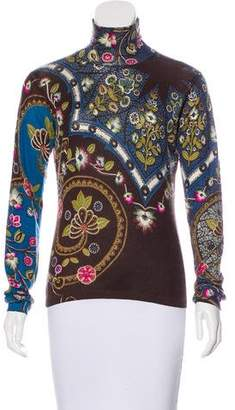Etro Turtleneck Knit Top