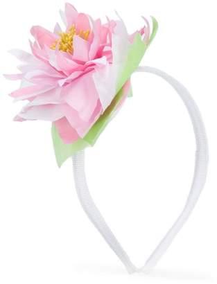 Simonetta flower appliqué hairband