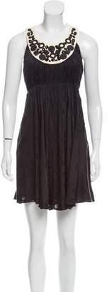 Milly Minis Milly Sleeveless Silk Dress