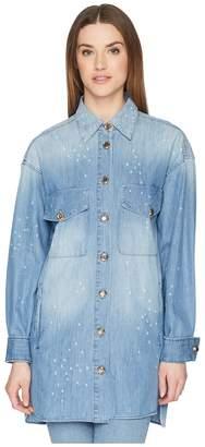 The Kooples Long Tencel Shirt