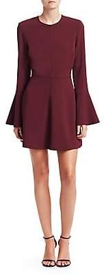 A.L.C. Women's Trixie Bell Sleeve Mini Dress