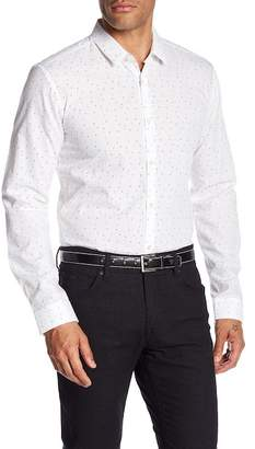 BOSS Front Button Extra Slim Fit Woven Shirt