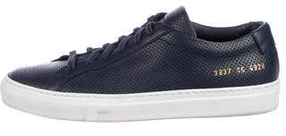 Common Projects Achilles Perforated Sneakers