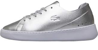Lacoste Silver UK Trainers For Damens ShopStyle UK Silver 22f980