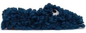 Anya Hindmarch Embellished Wool Slippers