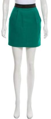 3.1 Phillip Lim Textured Mini Skirt
