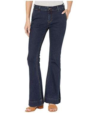 Grace in LA Easy Fit Trouser Jeans in Dark Blue